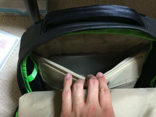 通勤カバンをMac Book Proが入る incase のリュックにしたお話8