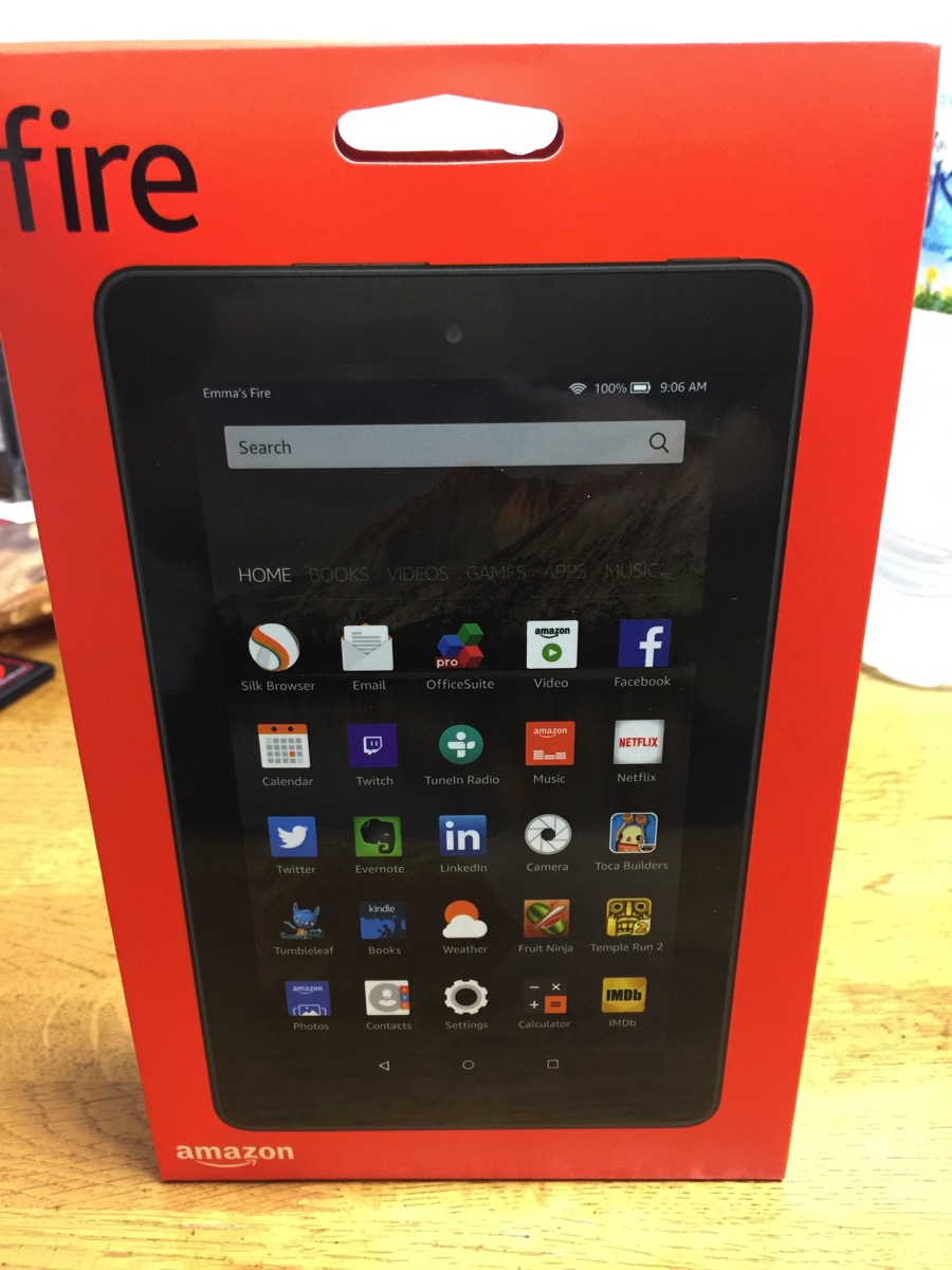 Kindle Fireはめちゃくちゃ気軽に使える低スペック機だった