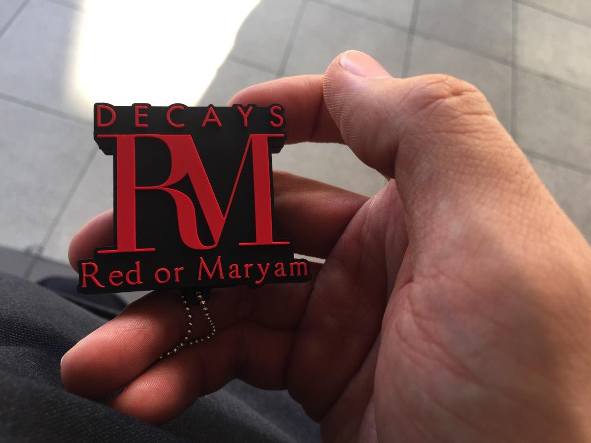 【インストレポ】DECAYS「Red or Maryam」発売トークイベント&握手会@新宿タワレコ